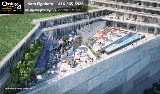 M City Condos Phase 1 exterior