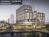 Daniels Waterfront Commercial Buildings Rendering