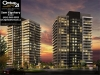 downtown-erin-mills-condos-building-rendering-night