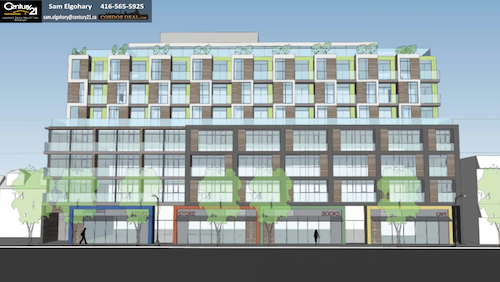 George Condos & Towns Rendering 2
