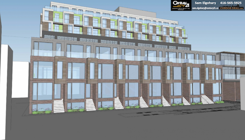 George Condos & Towns Rendering 3