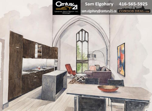 St. Leslieville Church Lofts rendering 2