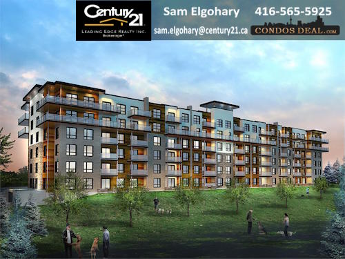 The Gallery Condominiums Exterior Rendering 2