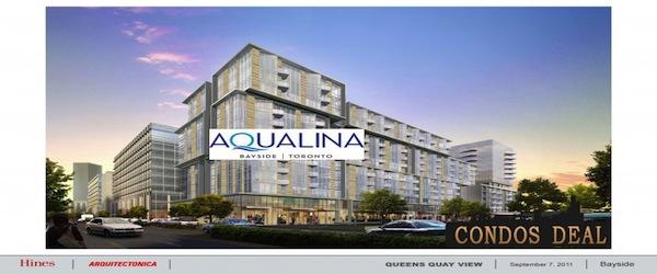 Aqualina Bayside  Condos By Tridel
