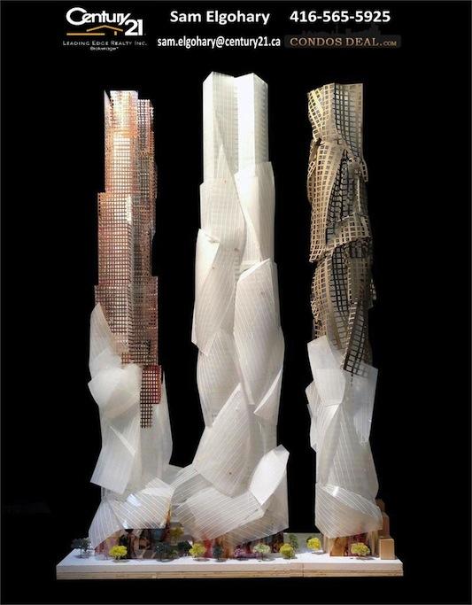 Mirvish + Gehry Condos Toronto