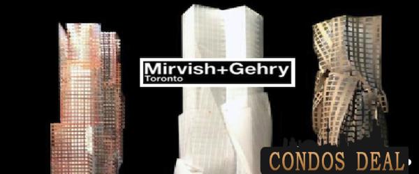 MIRVISH + GEHRY TORONTO CONDOS