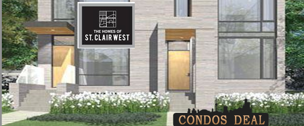 THE HOMES OF ST. CLAIR WEST BY URBANCORP