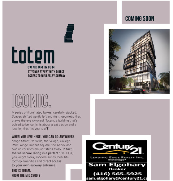 Totem Condominiums TOTEM CONDOMINIUMS BY WORSLEY URBAN PARTNERS
