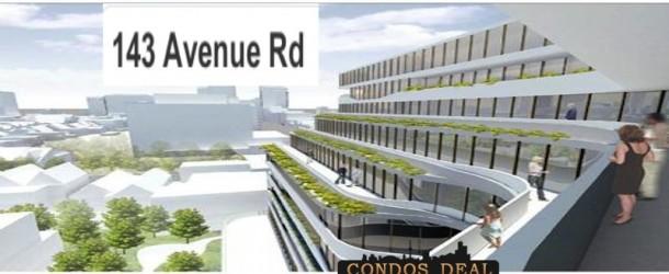 143 AVENUE RD CONDOS BY DASH DEVELOPMENTS INC