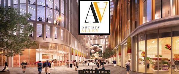 Artists Alley Condos Toronto