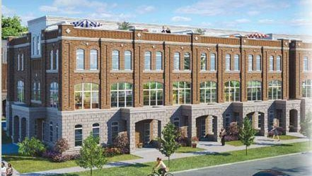 UPTOWNES CONDO TOWNHOMES BY GERANIUM HOMES