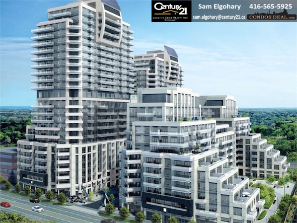 The Beverly Hills Condos Building Rendering