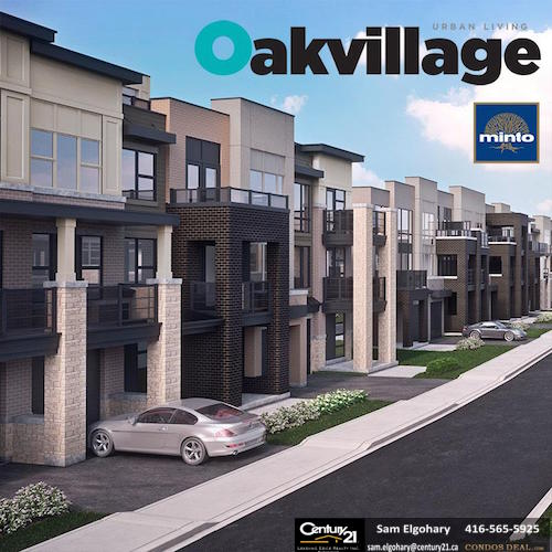Oakvillage Towns Rendering