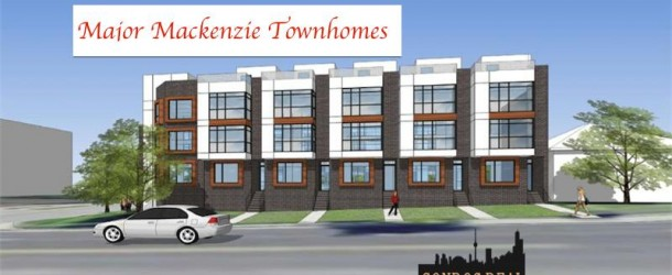 MAJOR MACKENZIE TOWNHOMES BY IDEAL DEVELOPMENTS