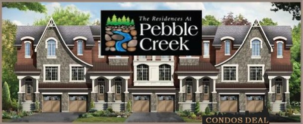 THE RESIDENCES AT PEBBLE CREEK BY FALCONCREST HOMES & GRAYWOOD DEVELOPMENTS LTD