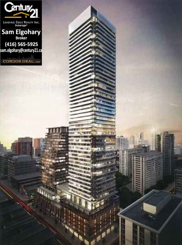 Teahouse condos at 501 Yonge