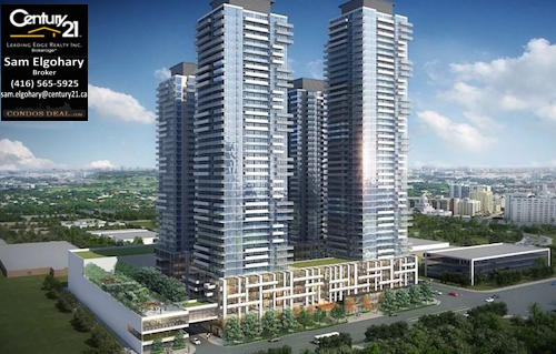 Brimley & Progress Condo Rendering
