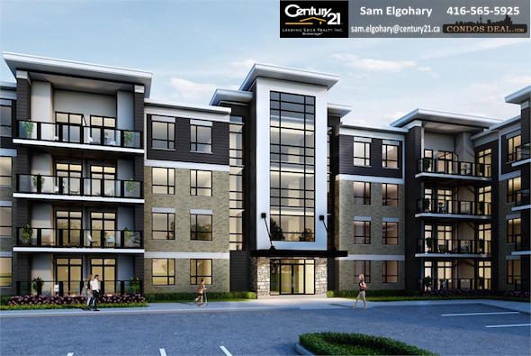 Liberty Square Condos Rendering