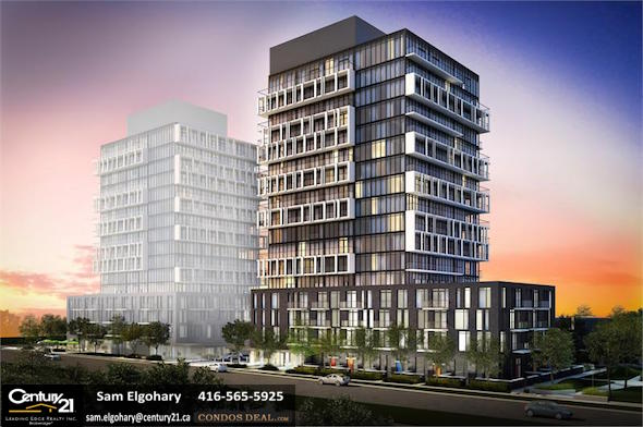 Connect Condos Rendering