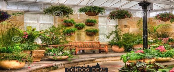 Indoor gardens vip access floor plans condos deal for Indoor botanical gardens