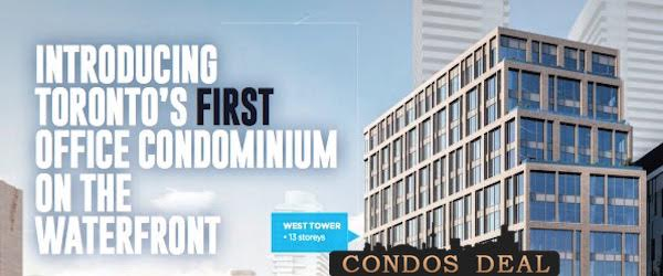 Office Condominium On the Waterfront By Daniels