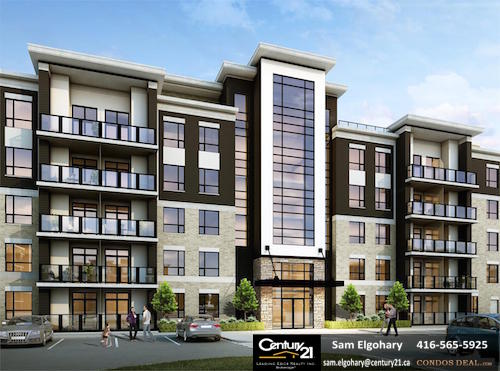 Origin Condos Building Rendering