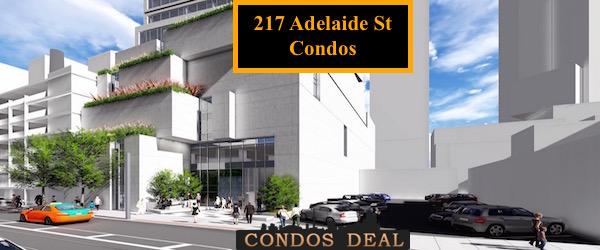 217 Adelaide St Condos