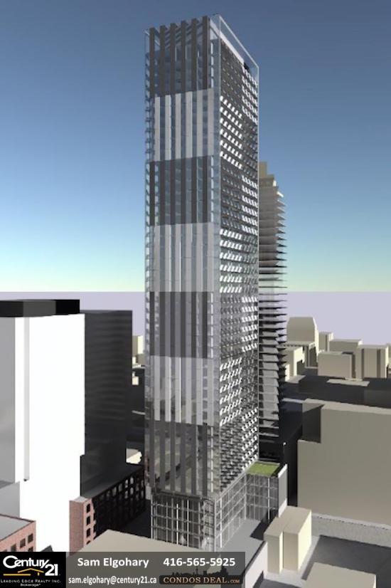 Carlyle Condos- Building Rendering