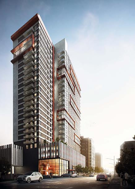 District Condos Building Rendering