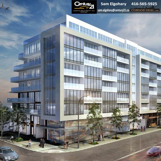 2301 Danforth Condos rendering