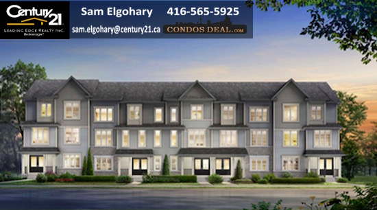 The Townhomes at Brooklin Corners Rendering