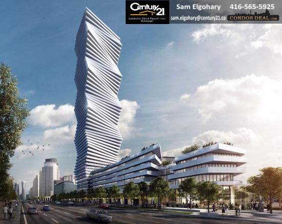 M City Condos Phase 1 Rendering