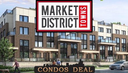 Market District Urban Towns www.CondosDeal.com