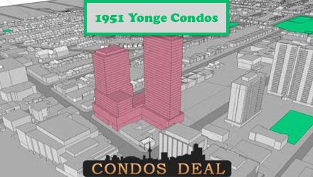 1951 Yonge Condos www.CondosDeal.com