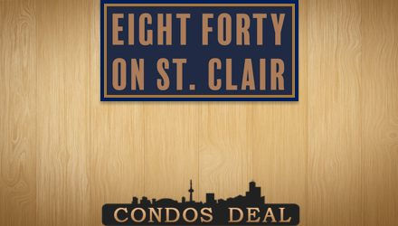 Eight Forty Condos www.CondosDeal.com