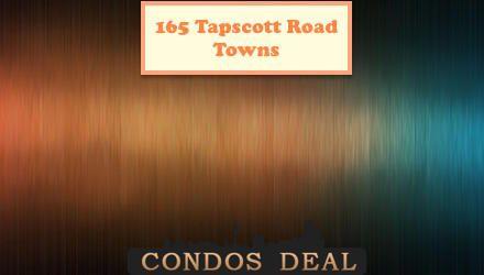 165 Tapscott Road Towns