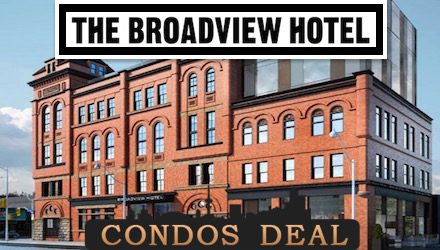 The Broadview Hotel www.CondosDeal.com