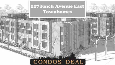 127 Finch Avenue East Townhomes