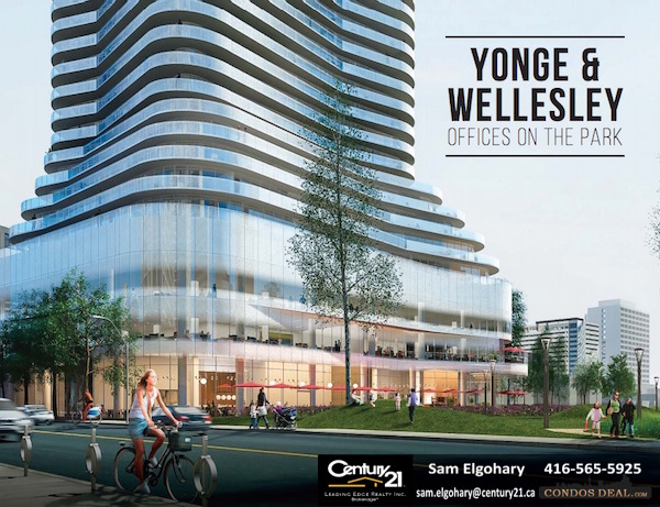 Yonge Amp Wellesley Offices On The Park Plans Amp Prices