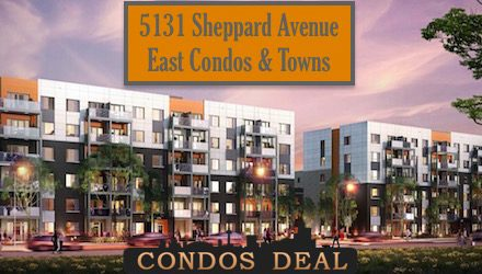 5131 Sheppard Avenue East Condos & Towns