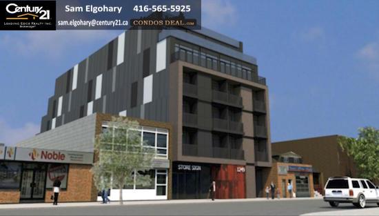 1249 Queen Street East Condos Rendering