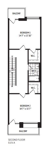 Floor Plan Second Floor