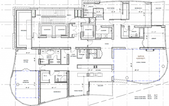 100 Davenport Condos Floor Plans
