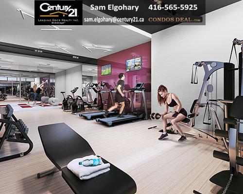 Canvas Condos Gym