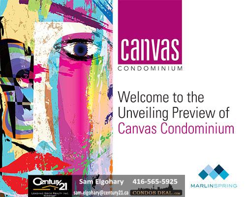 Canvas Condos VIP Displays