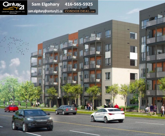 Daniels FirstHome™ Markham Sheppard Condos Rendering 2