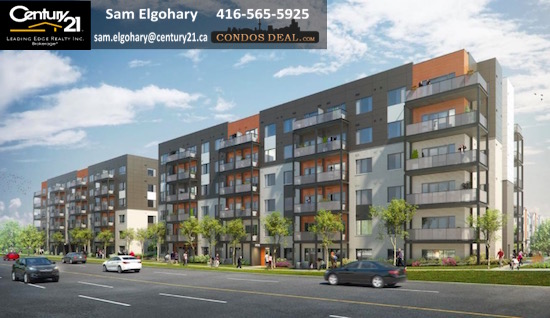 Daniels FirstHome™ Markham Sheppard Condos Rendering 3