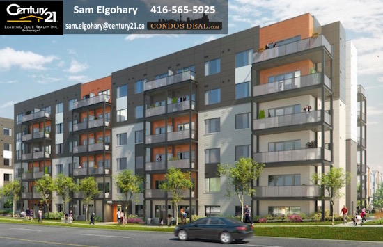 Daniels FirstHome™ Markham Sheppard Condos Rendering