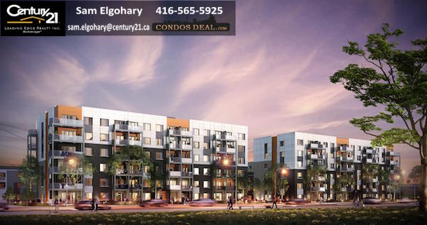 Daniels FirstHome™ Markham Sheppard Condos & Towns Rendering 2