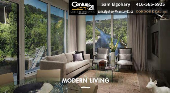 Kingsway by the River Living Room